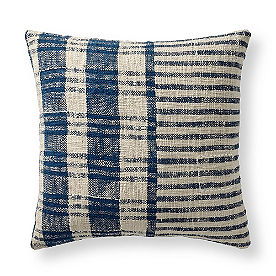 Charlie Woven Pillow, Check