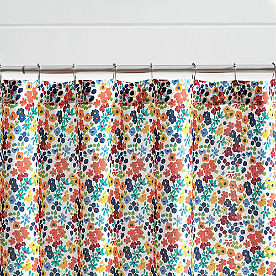 Ditsy Floral Shower Curtain