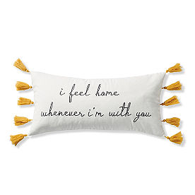 Home With You Pillow