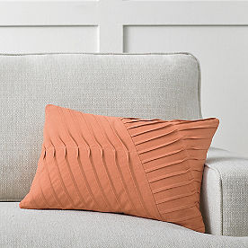 Renee Pleated Lumbar Pillow