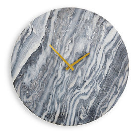 Polished Stone Clock
