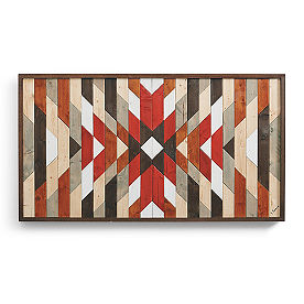 Desert Tribe Wood Wall Art