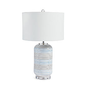 Sander Stripe Table Lamp