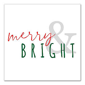 Merry and Bright Canvas
