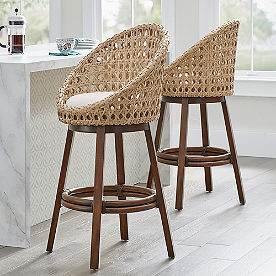 Mason Swivel Bar & Counter Stool