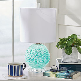 Orb Glass Table Lamp