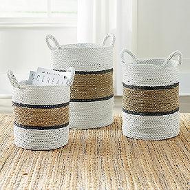 Remy Baskets, Set of Three