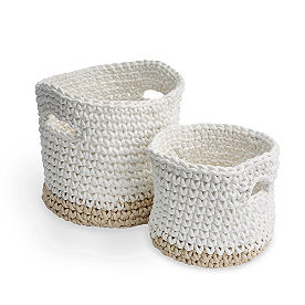 Celia Woven Baskets, Set of Two