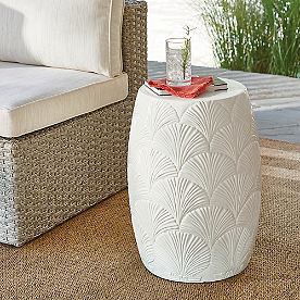 Shell Side Table