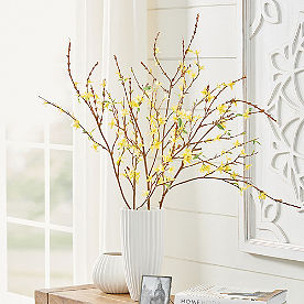 Forsythia Branch, Set of Three