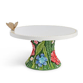 Fabulous Floral Cake Stand