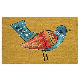 Partridge Hooked Door Mat