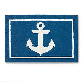 Anchor Hooked Door Mat