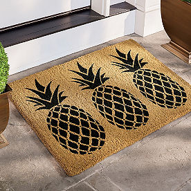 Pineapple Coir Door Mat