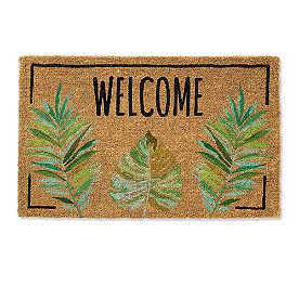 Welcome Palm Coir Door Mat