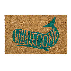 Whalecome Coir Door Mat