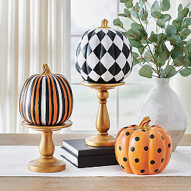Multi Stripe Designer Pumpkin