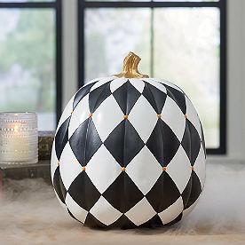 Harlequin Designer Pumpkin