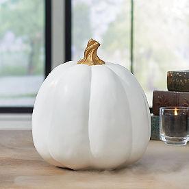 White Designer Pumpkin
