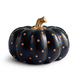 Small Dot Designer Pumpkin