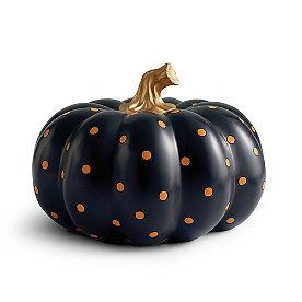 Small Dot Designer Pumpkin