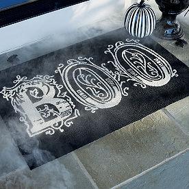 Boo Door Mat
