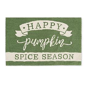 Pumpkin Spice Door Mat