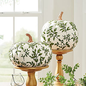 Leaf Vine Pumpkins