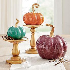 Lacquer Pumpkins