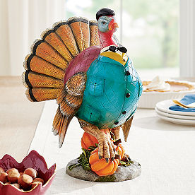 Dapper Turkey Decor