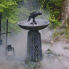 Beware Bird Bath