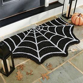 Spiderweb Door Mat