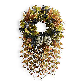 Graveside Halloween Wreath