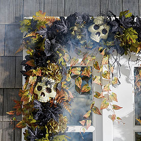 Graveside Halloween Garland
