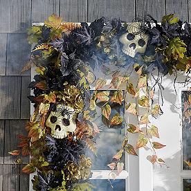 Graveside Halloween Garland