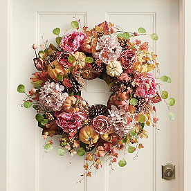 Blushing Fall Wreath