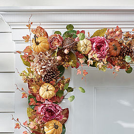 Blushing Fall Garland