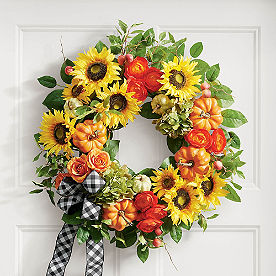 Farmer's Market Wreath