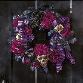 Wicked Violet Wreath