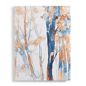 Watercolor Trees Art
