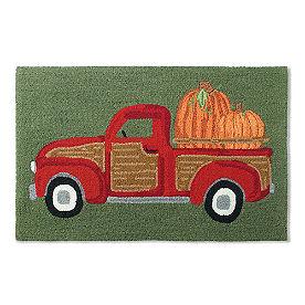 Harvest Truck Hooked Door Mat