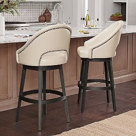 Lusso Swivel Bar & Counter Stool