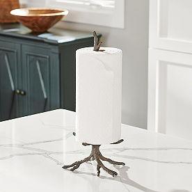Oak Branch Paper Holder