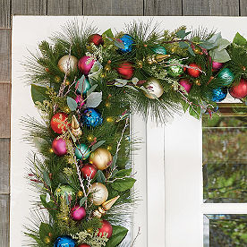 All Is Bright Cordless Garland