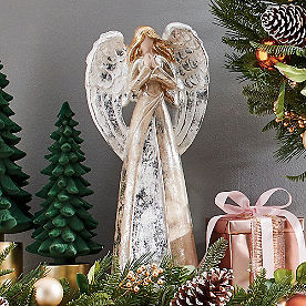 Glistening Angel Decor