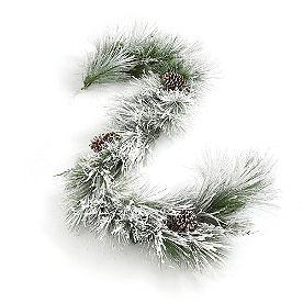 Icy Pine Cordless Garland