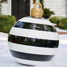 Yard Ornament, Black Stripe