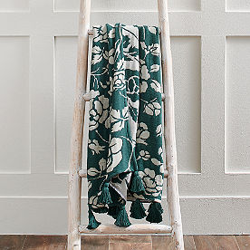Floral WovenThrow