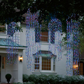 Multi-Colored Weeping Willow Lights