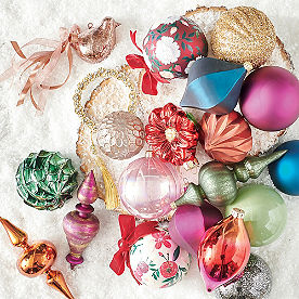 All is Bright Ornaments, Set of 20